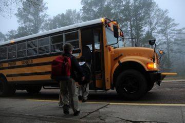 Schule Bus Ranzen Rucksack